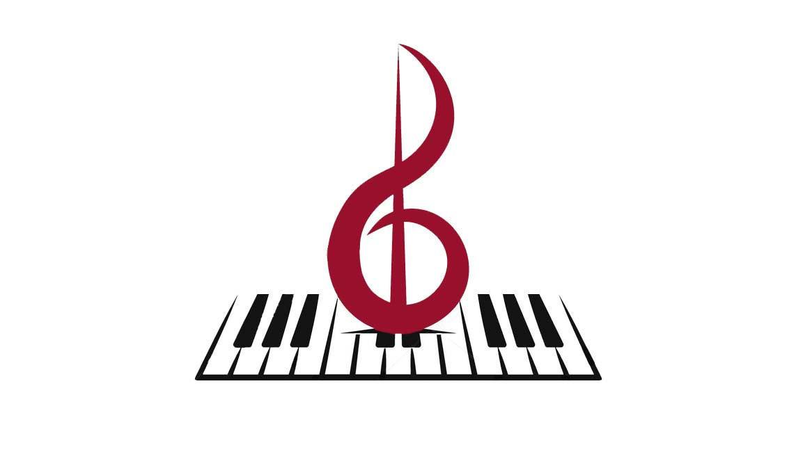 клавиши пианино и скрипичный ключ